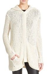 Women's Atm Anthony Thomas Melillo Hooded Sweater Coat