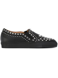 Givenchy Embellished Slip On Sneakers Black