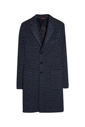 Missoni Men S Single Breasted Coat Boutique1 Blue
