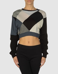 From Somewhere Long Sleeve Sweaters Black