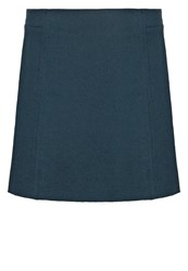 Marc O'polo Mini Skirt Petrol