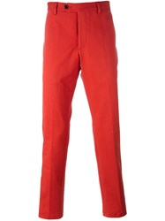 Al Duca D'aosta 1902 Slim Fit Chino Trousers Red