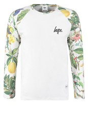 Hype Nature Long Sleeved Top Multi Multicoloured