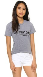 Barber Summer Girls Tee Grey