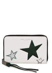 Marc Jacobs Star Patchwork White Leather Wallet