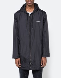 Stussy Insulated Long Hooded Coat Black