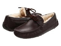 Ugg Byron Chocolate Leather Men's Slippers Brown