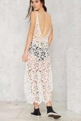 Nasty Gal Shiloh Crochet Lace Dress