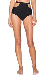 Nookie Reef High Waist Bikini Bottom Black