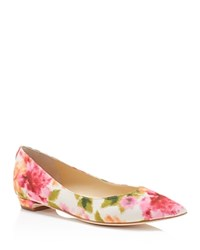 Ivanka Trump Tizzy Pointed Toe Flats Light Pink