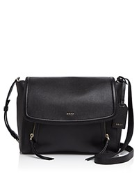 Dkny Small Chelsea Vintage Messenger Black