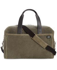 Jack Spade Men's Waxwear Overnight Bag Olive