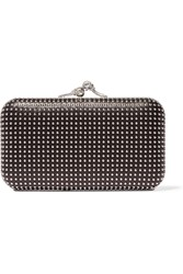 Alexander Mcqueen Studded Leather Clutch White