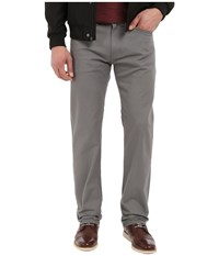 Dockers New Five Pocket Straight Stretch Twill Burma Grey Men's Casual Pants Gray