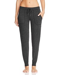 Pj Salvage French Terry Bonded Pants Black