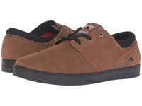 Emerica The Figueroa Brown Black Men's Skate Shoes