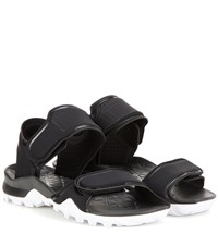 Adidas By Stella Mccartney Hikira Fabric Sandals Black