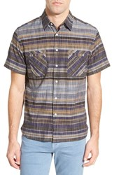 Men's Billy Reid 'Donelson' Standard Fit Stripe Sport Shirt