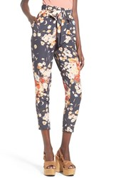 Women's Leith High Rise Crop Floral Pants
