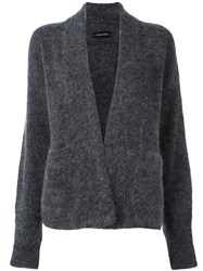 By Malene Birger Open Front Cardigan Grey