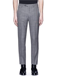 Maison Martin Margiela Glen Plaid Wool Pants Grey Multi Colour
