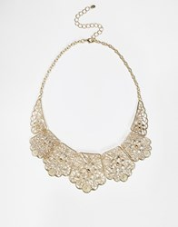 Oasis Lace Necklace Gold