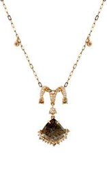Sharon Khazzam Women's Paddy Slice Necklace Colorless