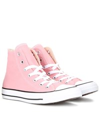 Converse Chuck Taylor All Star High Top Sneakers Pink