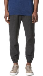 Shades Of Grey Pleated Joggers Heathered Graphite