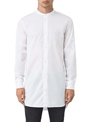 Allsaints Ashton Long Sleeve Shirt Optic White