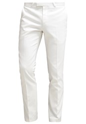 Noose And Monkey Calcott Suit White