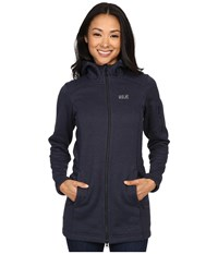 Jack Wolfskin Caribou Parka Night Blue Women's Sweatshirt Navy
