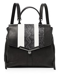 Botkier Valentina Backpack Black And White