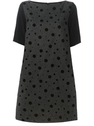 I'm Isola Marras Spotty Shift Dress Grey