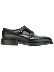 Church's Classic Monk Shoes Black
