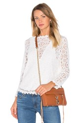 Nightcap Petite Cheri Top White