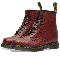 Dr. Martens X Stussy 1460 8 Eye Boot Red