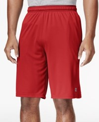 Champion Powertrain Double Dry Tech Shorts Scarlet