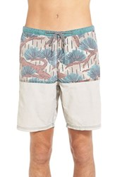Men's Katin 'Bonsai' Hybrid Shorts Khaki Blue