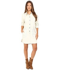 See By Chloe Denim Button Down Dress Barly Blue