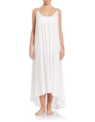 Vince Camuto Polish Long Racerback Cover Up Dress White