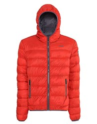 Jeep Quilted Eco Down Jacket Red