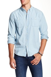 Ezekiel Depot Long Sleeve Shirt Blue
