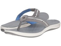 Sperry Seabrook Wave Grey Silver Women's Sandals Gray