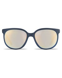 Vuarnet Mat Dark Grey Sunglasses With Pure Blue Gold Flashed Vintage 02 Lenses