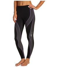 Cw X Performx Tight Black Grey Lavender Women's Workout
