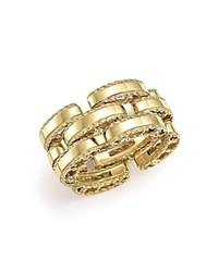 Roberto Coin 18K Yellow Gold Retro Ring