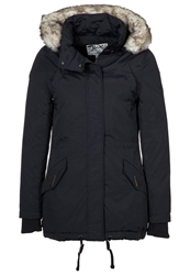 Schott Nyc Freya Down Jacket Black