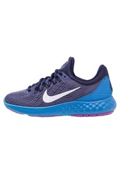 Nike Performance Lunar Skyelux Neutral Running Shoes Dark Purple Dust White