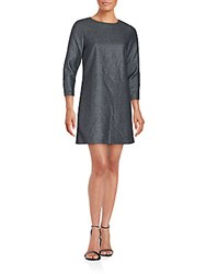 Zadig And Voltaire Rocky Wool Cashmere Dress Grey